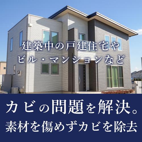 建築会社/住宅会社の方へ カビの問題をスピーディーに対応します。